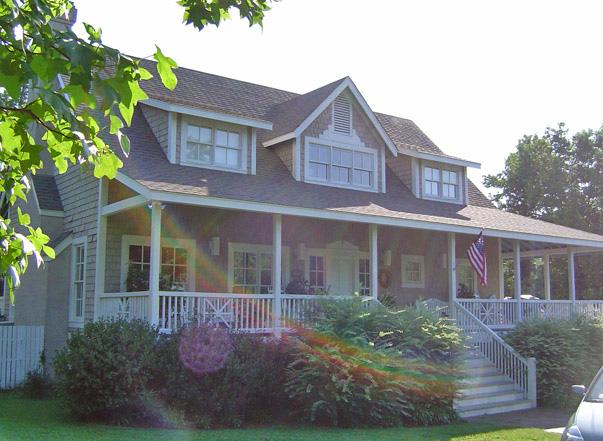 Plantation Cottage Front Left