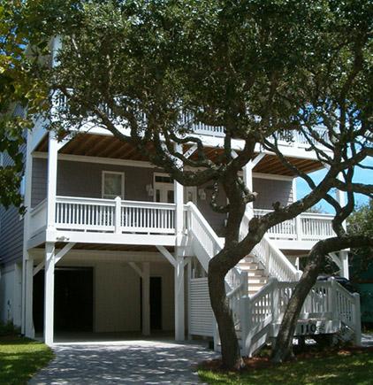 Porches Cottage Roof Deck Front